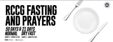 RCCG YEAR 2020 FASTING AND PRAYERS GUIDE FOR JANUARY – FEBRUARY 2020 4