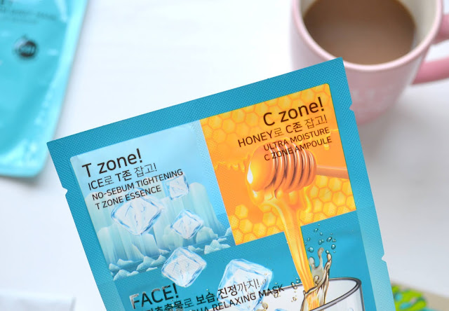 Skin7Teen 3-Step Americano Mask