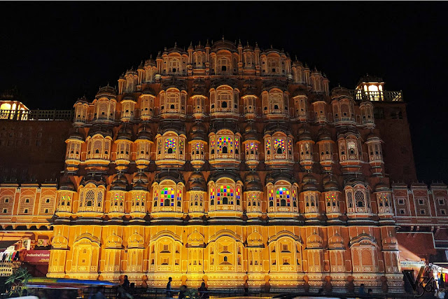 Hawa Mahal, iconic monument of Rajasthan