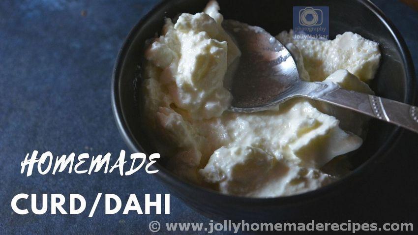 Homemade Dahi Recipe