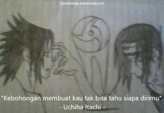 Gambar kata-kata bijak Itachi Uchiha