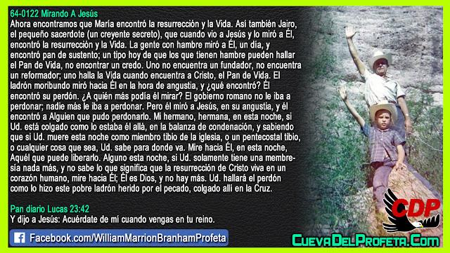 Si no encuentra PERDON esuche esto - William Branham en Español