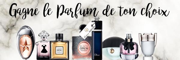 Gagnes le parfum de ton choix !!
