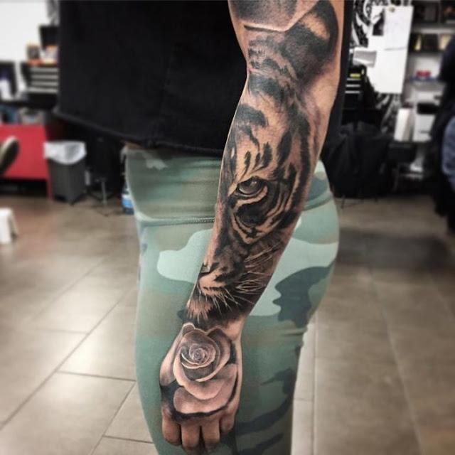 Tatuagens de tigre