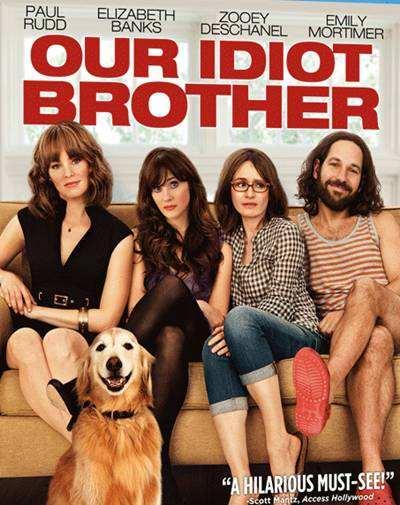 Nuestro Hermano Idiota [Our Idiot Brother] 2011 BRRip 720p HD Español Latino Descargar