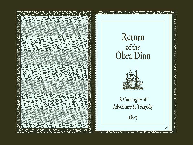 Download Return of the Obra Dinn Free Full Game For PC