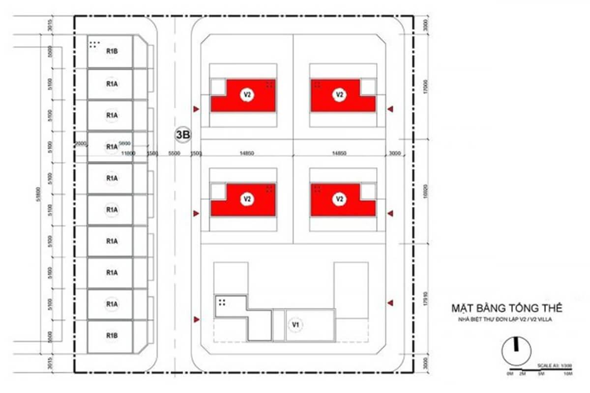 Biệt thự Mipec Rubik 360 Xuân Thủy