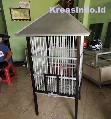 jasa kandang aluminium burung beo murah