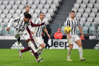 ملخص واهداف مباراة يوفنتوس وتورينو (2-1) الدوري الايطالي