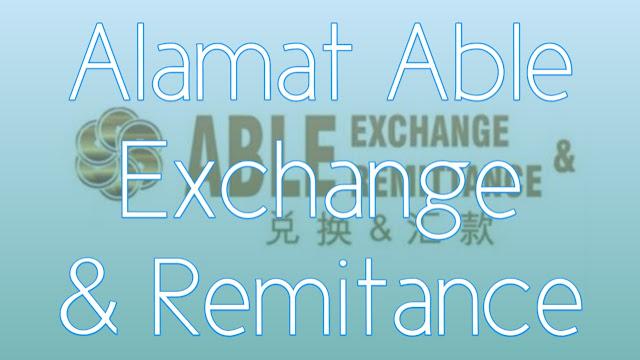 Alamat dan Nomor Telepon PT Able Exchange & Remitance (MONEY CHANGER)