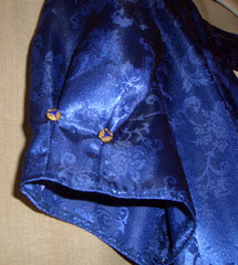 DIY with Gail Carriger ~ Making a Blue Shirt from a Blue Dress