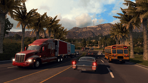 American Truck Simulator 2016 Game PC Ringan