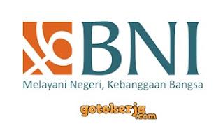 Lowongan Kerja PT. Bank Negara Indonesia (Persero) Tbk.