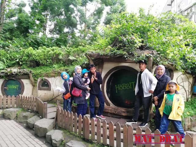 Bercuti Bandung Farm House Susu Lembang Rumah Hobbit