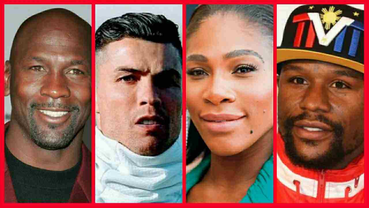 The richest athletes of all time