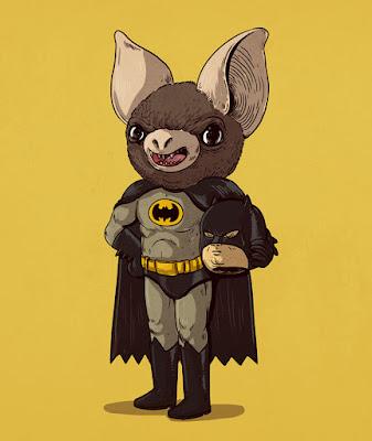 Batman murciélago gigante.