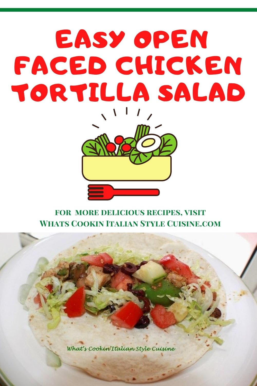 pin this for later tortilla wraps
