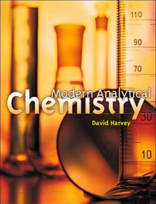 Modern Analytical Chemistry David Harvey in pdf