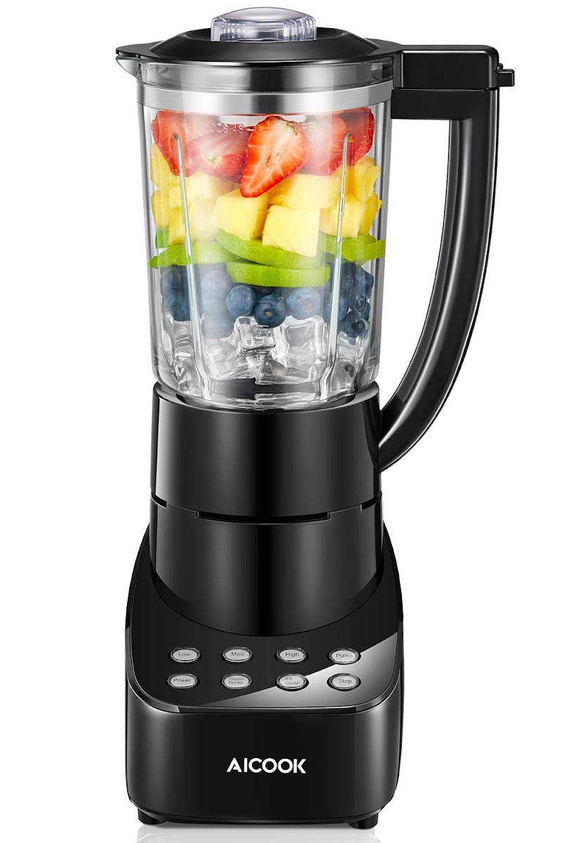 AMAZON - AICOOK 5 Speed Smoothie Blender 700W