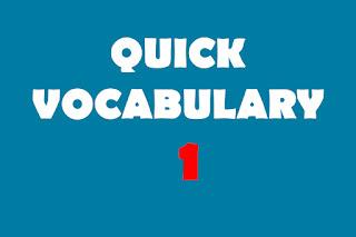 Vocabulary-1 (Abandon)