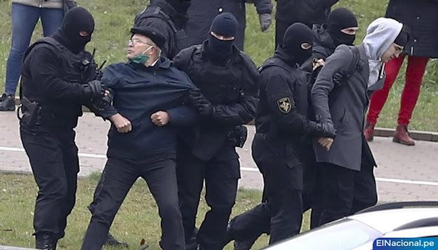 Protestas contra Lukashenko en Bielorrusia deja más de 920 detenidos