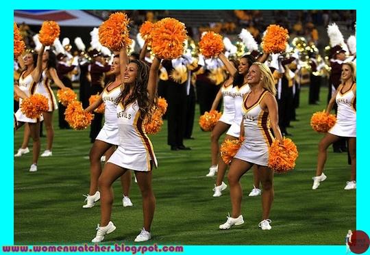 Nude asu cheerleaders