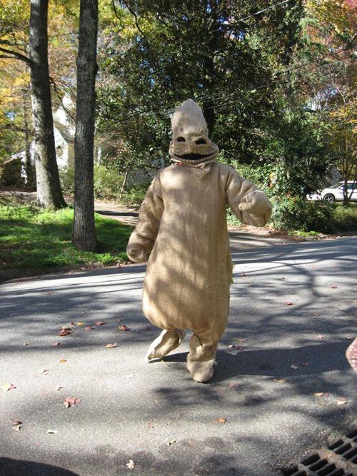 oogie boogie halloween costume