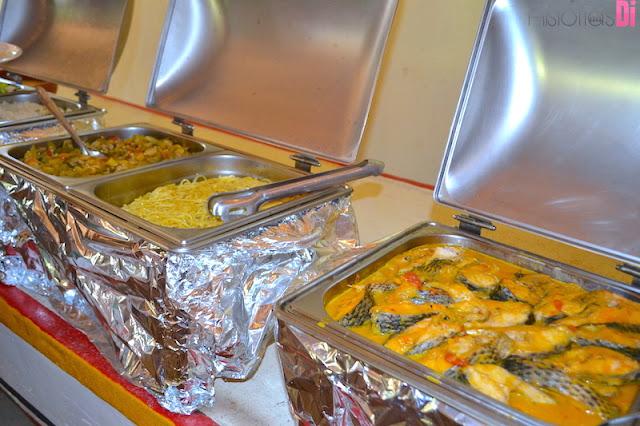 Bouffet do Restaurante Angicos