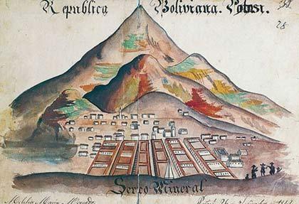 Historia de Potosí, Bolivia