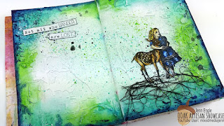 Not All Who Wander Jenn Engle OOAK Artisans