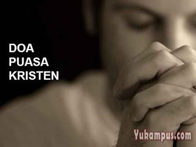 doa puasa kristen