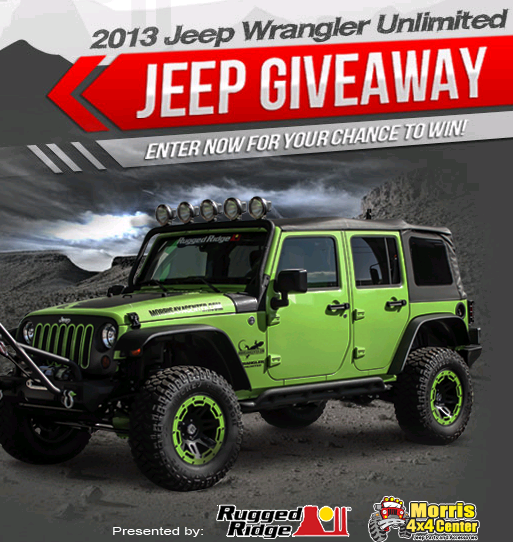 extreme 4x4 jeep giveaway sweepin n more morris 4x4 center and omix ada 2013 jeep 4175