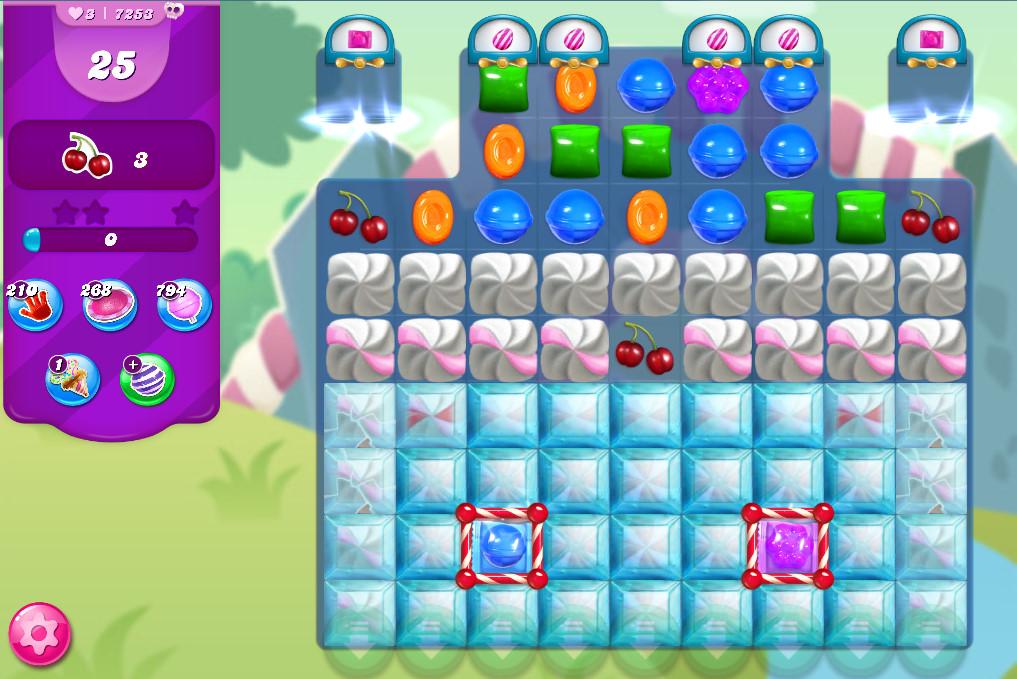 Candy Crush Saga level 7253