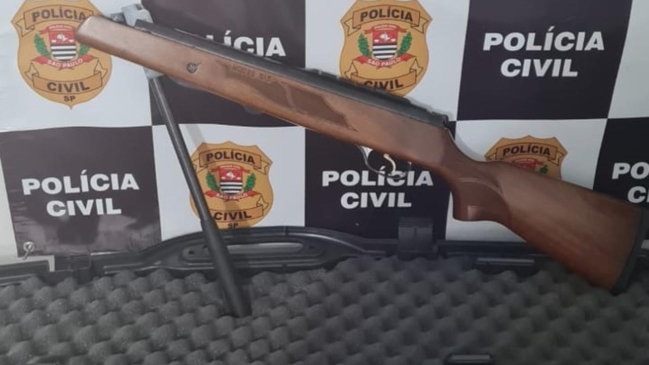 Ladrão é preso em São Manuel e arma é recuperada