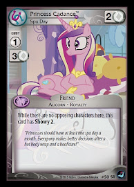 MLP Princess Cadance, Spa Day High Magic CCG Card