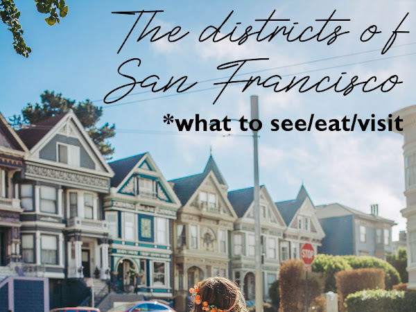 Your guide through San Francisco's districts: what to see/eat/visit