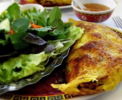 Cambodian pancakes