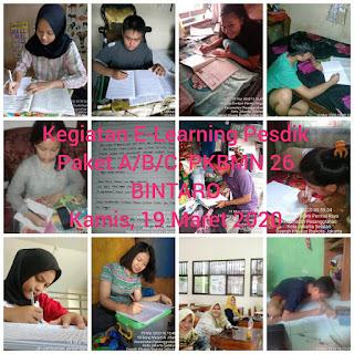 Kegiatan Home Learning PKBM Negeri 26 Bintaro
