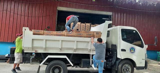 Lucena City Anti-drug Abuse Office, nagpasalamat sa DSWD Region IV-A para sa mga natanggap na Family Food Packs