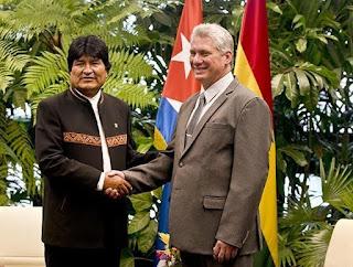 Morales recibido por Díaz-Canel Blog Isla Mía