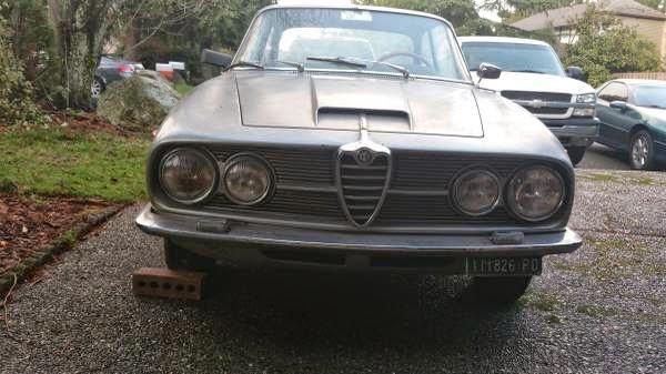 Restoration project cars 1963 alfa romeo sprint project for American restoration cars for sale