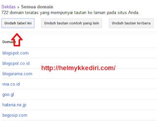 Memblokir Backlink Spam dengan Google Disavow2