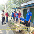 Polsek Tambelang Giat Pengamanan Bakti Sosial World Clean Up Day 2021