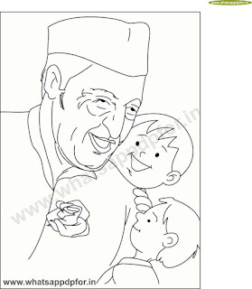 drawing for children's day