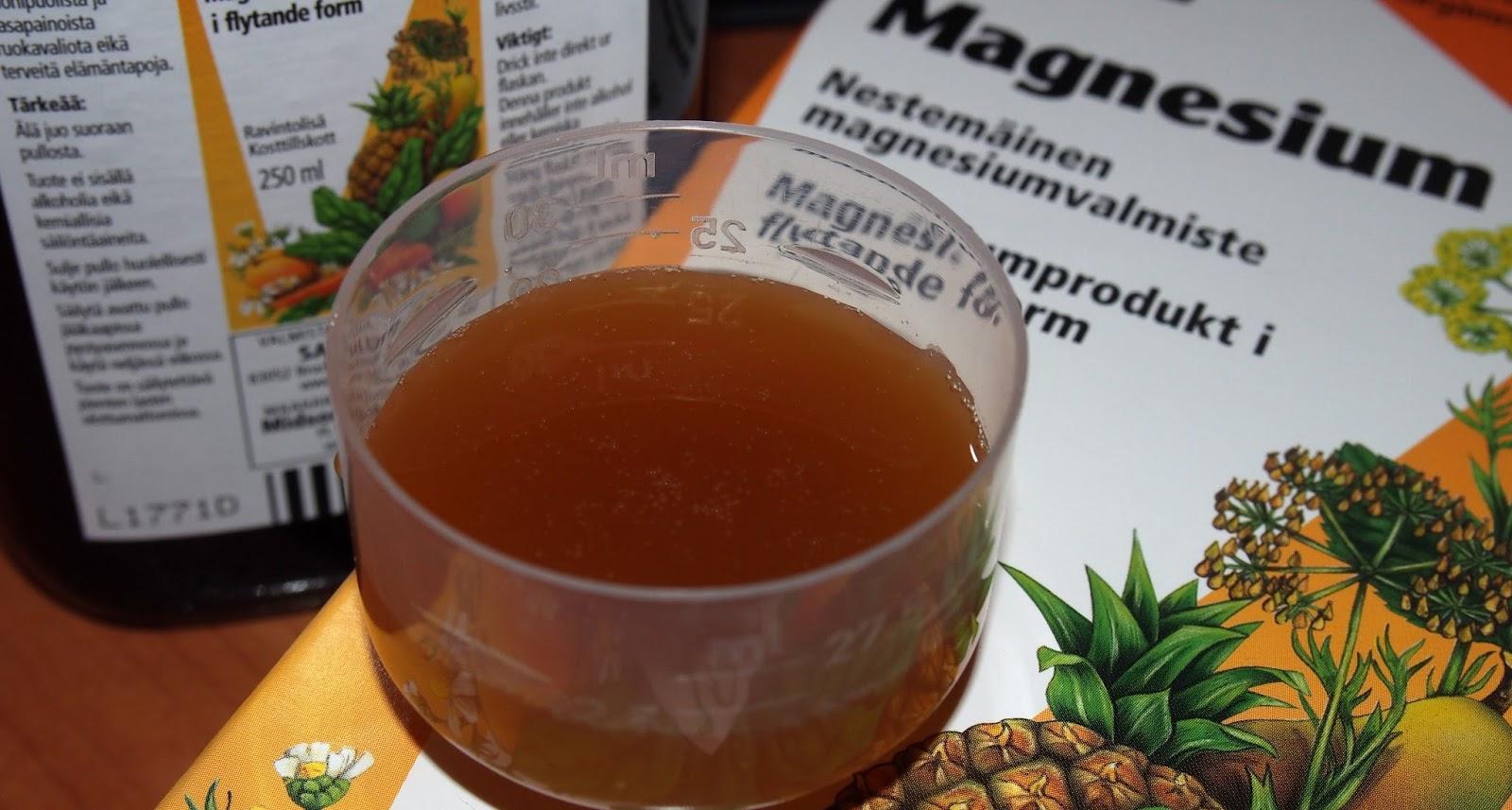 salus magnesium flytande
