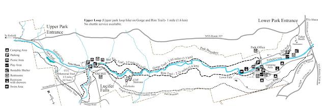 Robert H. Trehman State Park Wooden Trail Map