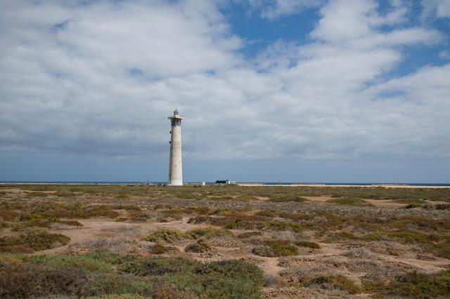 Spiaggia di El Matorral (faro)-Fuerteventura