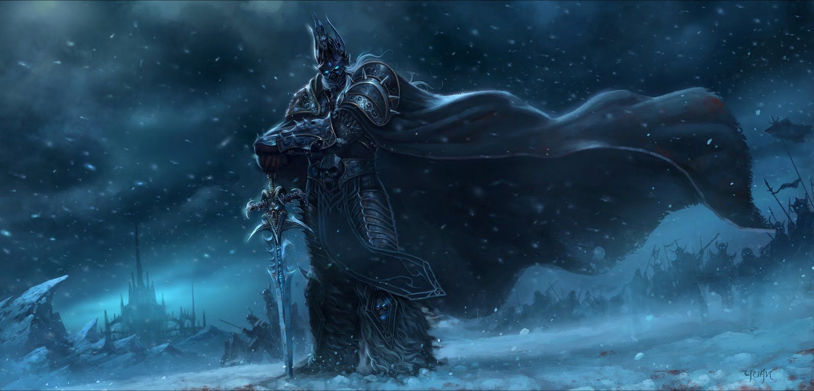Fall Of The Lich King Wallpaper Trololo Blogg Lich King Wallpaper