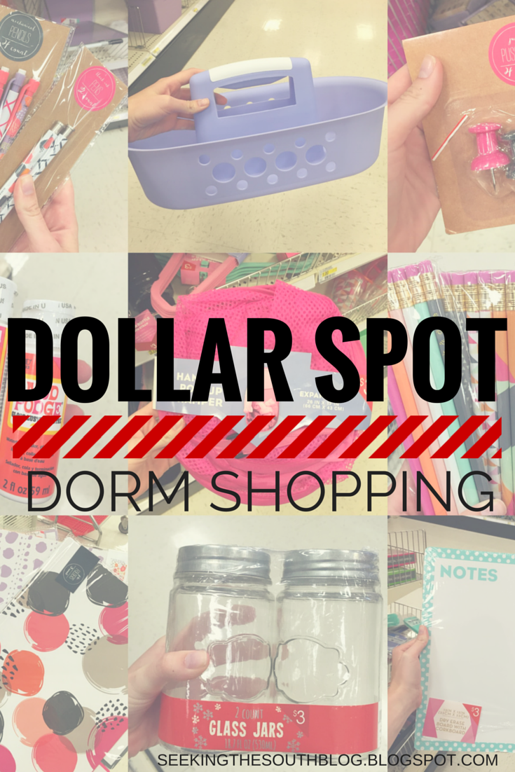 Dollar Spot Dorm Shopping