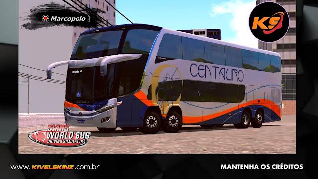 PARADISO G7 1800 DD 8X2 - VIAÇÃO CENTAURO TURISMO